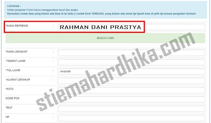 pendaftaran online mahasiswa baru stie mahardhika surabaya